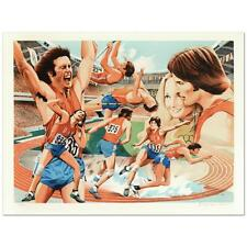 "William Nelson - ""Bruce Jenner"" Limited Edition Serigraph, Numbered and Signed"
