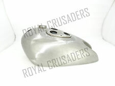 NEW MATCHLESS G8 RAW STEEL PETROL TANK 1936 (REPRODUCTION)