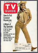 1966 TV GUIDE COVER'S ONLY~SEXY ACTRESS YVETTE MIMIEUX