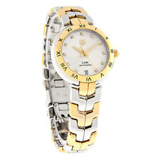 Tag Heuer Link Diamond Ladies 18K Swiss Automatic Watch WAT2350.BB0957