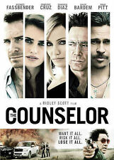 The Counselor (DVD, 2014) Michael Fassbender ACTOR IN NEW  STEVE JOBS FILM