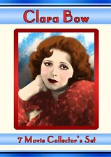 Clara Bow Collector's Set 4 DVDs, 7 Classic Movies, New Sealed, Mantrap IT Wings