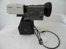 Sony Power HAD DXC-950 3CCD COLOR VIDEO CAMERA w/ Canon BCTV Zoom 17 x 7 LENS