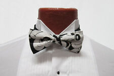 Mens Disney Mickey Mouse Faces Black/ White Bow Tie Cruise Prom Costume