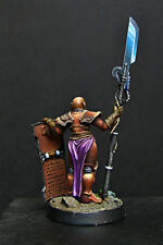 Imperial female crusader - with power halberd/ power axe and storm shield WH40k