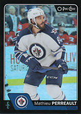 16/17 O-PEE-CHEE OPC RAINBOW BLACK #161 MATHIEU PERREAULT 085/100 JETS *22674
