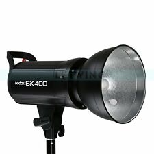 UK Godox SK-400 400W Flash Strobe Head Studio Lighting Light With Blubs