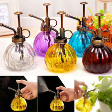 Home Bar Garden Vintage Watering Can Pot Plants Flower Glass Spray Bottle 240ml