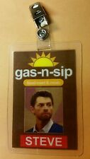 Supernatural ID Badge-Gas-n-sip Steve prop costume cosplay