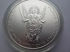 "Ukraine,One Hryvnya, ""Archangel Michael"" 1 oz 999,9 ,Silver 2015 year"