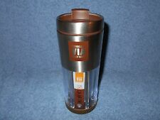 2010 STARBUCKS VIA READY BREW 10 OZ STAINLESS STEELTRAVEL TUMBLER - NICE
