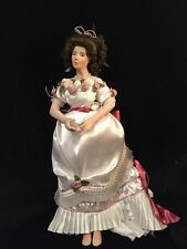 """Vintage Collectible 1997 Laura Colalee 17"""" Porcelain Victorian Doll #302/1000"""