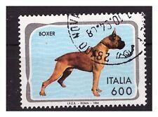 BOXER  FRANCOBOLLO USATO -  ITALIA 1993