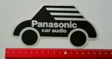 Pegatina/sticker: Panasonic car audio (24041661)