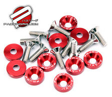 PASSWORD JDM Fender Washers RED x10 Honda Civic Integra CRX Type R EK9 EP3 DC2