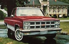 Old Print. Red 1981 GMC Sierra Classic Wideside Pickup Advertisement