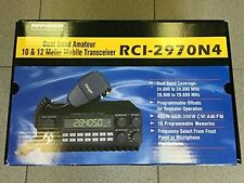 Ranger RCI-2970N4 10/12 Meter Radio Transceiver NEW! PRO TUNED AND ALIGNED