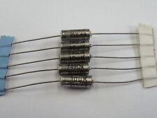 5x Axial Tant Tantalum Capacitors 10uF 25v Mil Spec At25-10U EF10