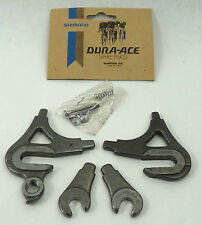 Shimano Dura Ace Dropout Set EF Road W Adjusters Vintage Bicycle Frame NOS