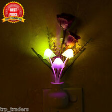 LED Mushroom Colorful Night Light Romantic/Lamp Home Illumination/ INDIAN PIN