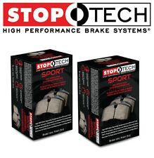 NEW BMW E30 M3 1987-1991 Front & Rear Brake Pads Set Kit StopTech Sport