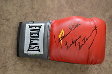 LEO SANTACRUZ VS MIJARES FIGHT AUTOGRAPHED BOXING GLOVE