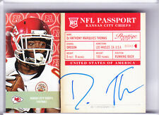 2014 PANINI PRESTIGE #17 DE'ANTHONY THOMAS AUTOGRAPH ROOKIE RC CHIEFS 0204