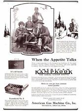 Vintage ad 1923 American Kampkook Camp Stove Cool photo Family Camping Glamping