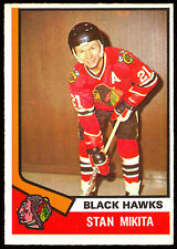 1974-75 OPC O PEE CHEE HOCKEY #20 STAN MIKITA NM CHICAGO BLACK HAWKS CARD