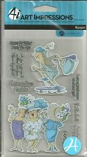 Ai Art Impressions Clear Stamps - Got Style? SC0678  #159