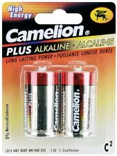 "Camelion Plus Alkaline High Energy ""C"" Battery 2 Pk"