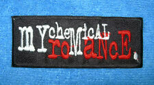 `MY CHEMICAL ROMANCE` SEW OR IRON ON PATCH
