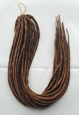 Elysee Star - #30 Reddish Brown Synthetic Dreadlocks (Double Ended) Pack of 12