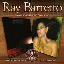 Ray Barretto - Eye of the Beholder/Can You Feel It? [New CD] UK - Import