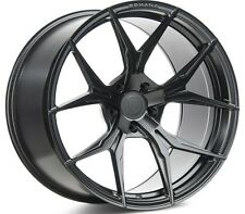 20x9 20x11 +43 Rohana RFx5 5x112 BLACK WHEEL FIT Mclarmen MP4 2013 SUPER CAR