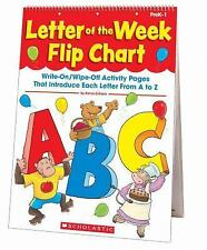 Letter of the Week Flip Chart: Write-On/Wipe-Off Activity Pages That Introduce E