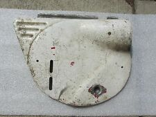 YAMAHA YZ175 YZ 175 MX175 MOTO LEFT SIDE FRAME COVER NUMBER PLATE 1974-75  C1