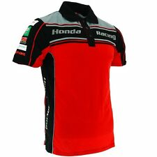 HONDA Motorrad MOTO RACING TEAM 2017 POLO Shirt Gr. L - NEU Model 2017 !