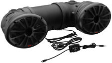 "Boss Dual 700W 6x9"" ATV/Marine Amplified Waterproof Speakers+Bluetooth 