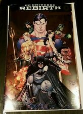 JUSTICE LEAGUE Rebirth#1 FOIL VARIANT 2016 SDCC Exclusive Jim Lee Batman WW Supe