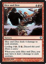 Slice and Dice NM X4 Commander 2013 MTG Magic Cards Red Uncommon
