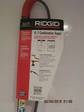 RIDGID 46683, K-1 COMBINATION  AUGER , FREE SHIPPING BRAND  NEW W/TAGS-2016!!!!!