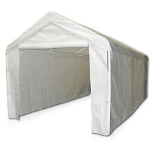 Caravan Canopy Domain Carport 10 x 20 Garage Sidewall/Shelter Tent Cover Kit