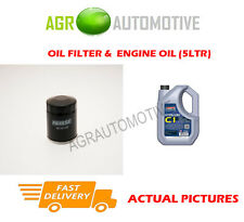 PETROL OIL FILTER + C1 5W30 ENGINE OIL FOR DACIA LOGAN MCV 1.2 75BHP 2013-