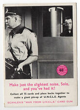 Scanlens Australia The Man From Uncle original 1960s trading card #60