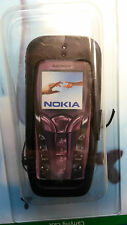 NEW Genuine Original Nokia Black Leather Mobile Phone Case for Nokia 7250/7250i