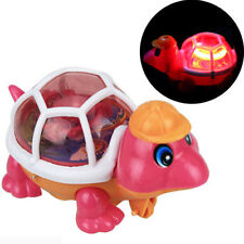 Cute Baby Child Educational Lovely Pull-emitting Little Turtle Light Kids Toy