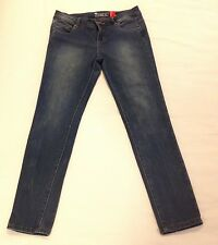 NEW LOOK The Shaper Yes Yes Womens Super Skinny Blue Jeans UK 12 40 VGC