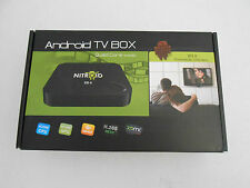 NITROID BOX STREAMING DEVICE Media STREAMER player FREE MOVIES TV APPS MUSIC