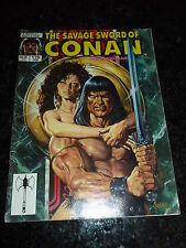 The SAVAGE SWORD of CONAN the BARBARIAN Comic - No 170 - Date 02/1990 - Marvel